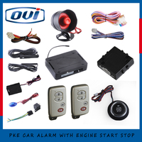 Universal Car Engine Start Push Button Kit With Remote Engine Start Stop DC12V And Support With