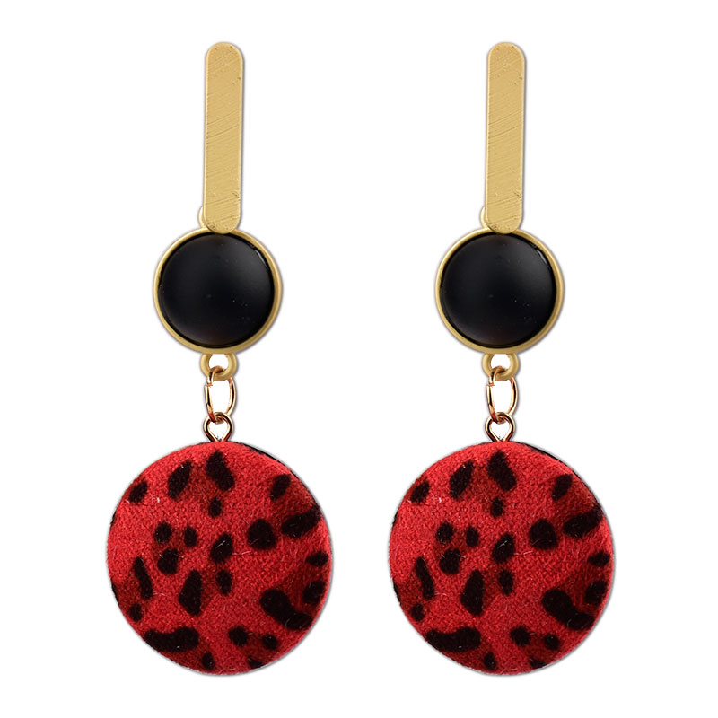 L H 2018 New Vintage Drop Earrings Ethnic Statement Hollow Round Acrylic Sexy Dangle Earrings For Women Fashion Ear Jewelry Gift in Drop Earrings from Jewelry Accessories