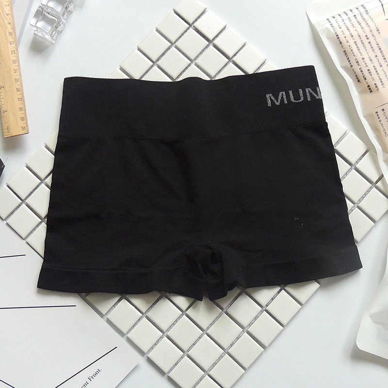 Gorące wysokie elastyczne bezszwowe damskie bezpieczne krótkie spodnie rajstopy dla kobiet spodnie ochronne pod spodenkami damskie spodenki Leggin Style