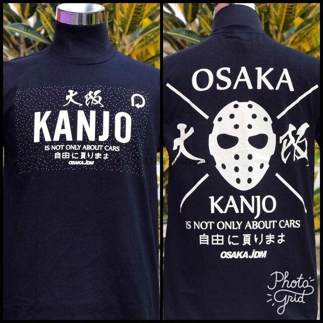 Kanjo punto Osaka CIVIC EK, por ejemplo, coche de carreras Camiseta de algodón (tamaño de ASIA)