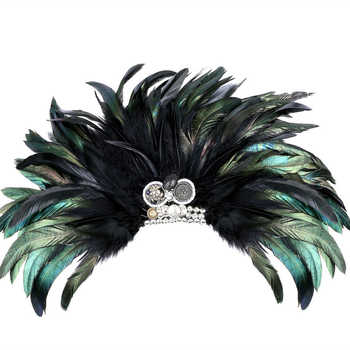 Wedding Bussiness Suits Banquet Brooch Black Feather Anchor Flower Corsage Clothing Accesory Boutonniere Clips Collar Brooch Pin - DISCOUNT ITEM  33 OFF Jewelry & Accessories
