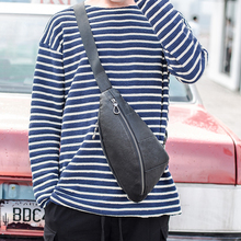 BAQI Brand Shoulder Bag Men Chest Bag 2019 Fashion Genuine Leather Cowhide Casual Crossbody Messenger Bag Men Back pack Travel brand genuine leather 10 tablet pc pack men s shoulder messenger bag casual travel business cross body bags men cowhide