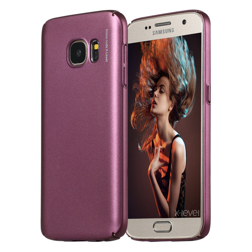 Buy X Level Hard Case For Samsung Galaxy S7 Edge Baby Skin Ultra Thin Black 360 Full Protection Original Pc Back Cover From Reliable