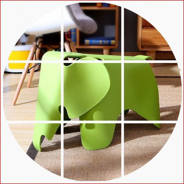 Modern garden toy stools Living room changing shoes chairs furniture ...