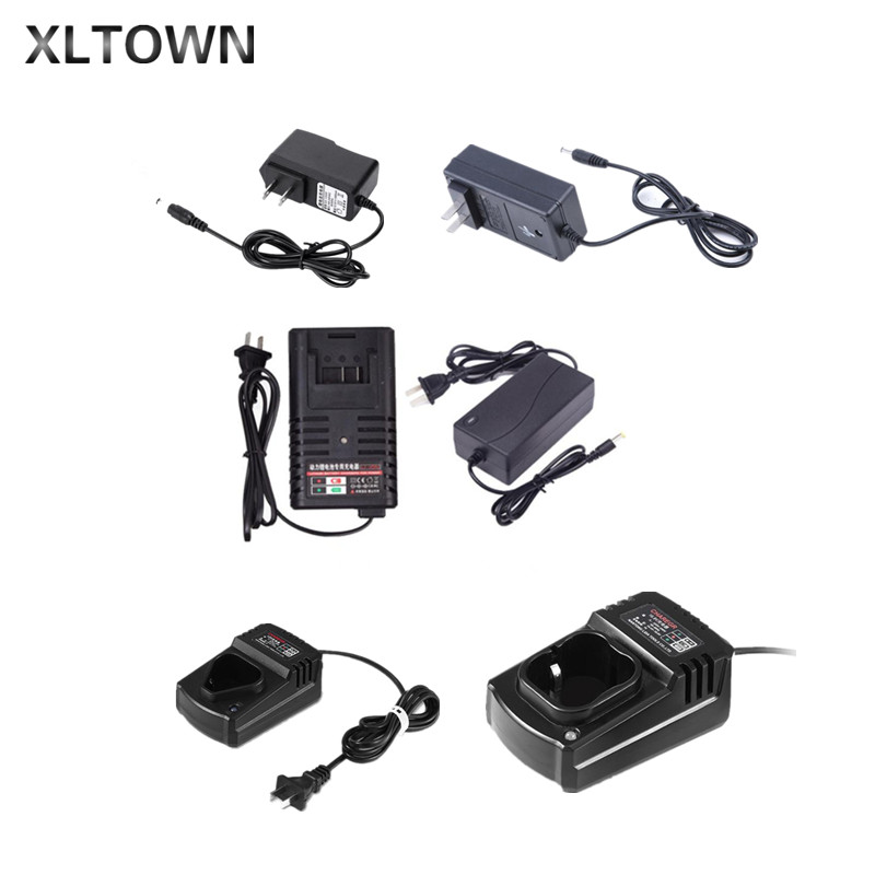 XLTWON 12v/16.8v/21v/25v Cordless Screwdriver Charger Accessories Mini Cordless Drill Charger Lithium Battery Charger