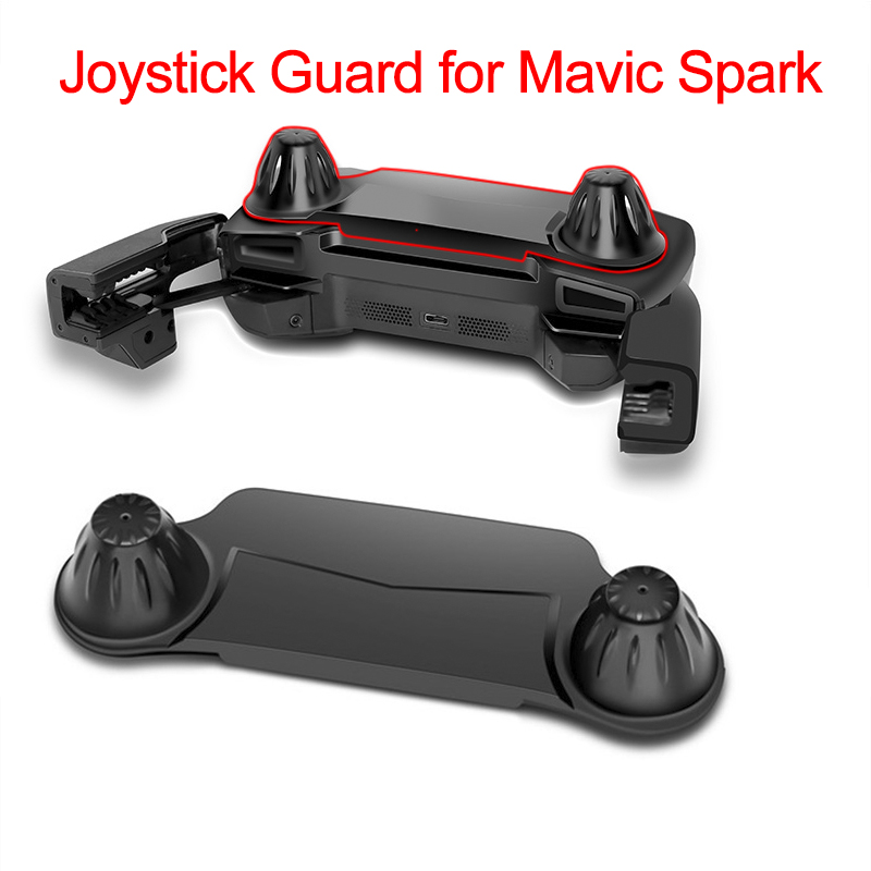 Joystick Guard For DJI Mavic Pro Spark Remote Control Thumb Stick Guard Rocker Protector Holder Cover Transport Protective Parts