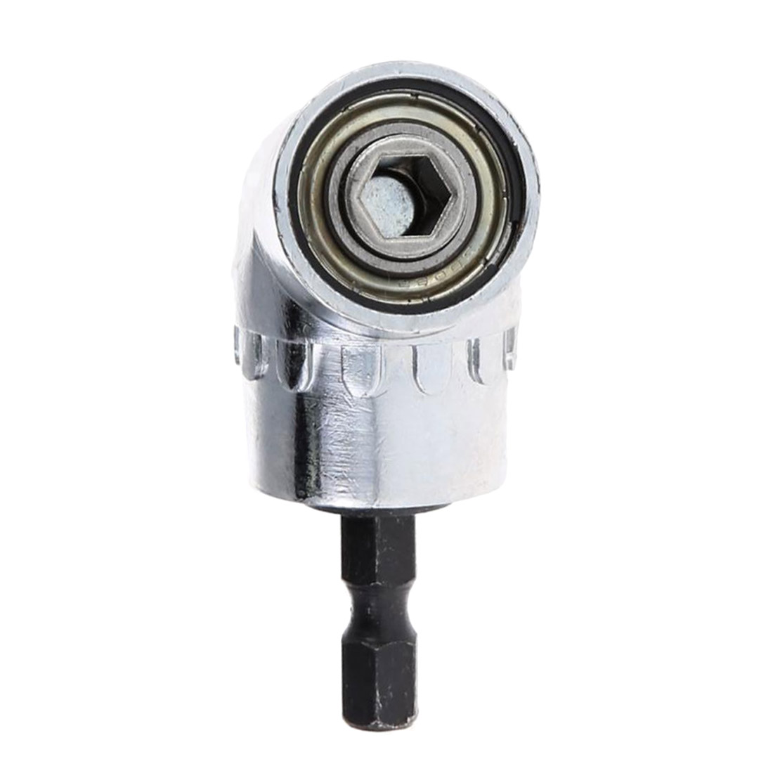 1pc 1/4 Hex Shank Screwdriver 105 Degree Magnetic Bit Angle Extension Screw Driver Holder Adaptor