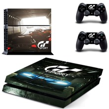 Gran Turismo Sport GT Sport PS4 Skin Sticker Decal Vinyl for Sony Playstation 4 Console and 2 Controllers PS4 Skin Sticker цена и фото