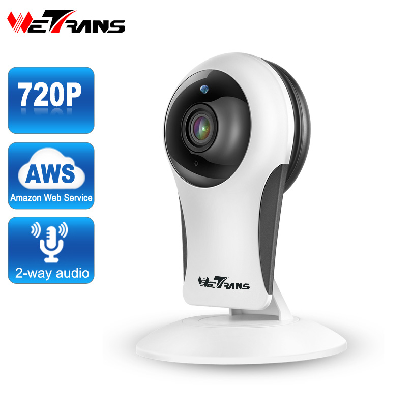 Wetrans IP Security Camera Wifi 720P HD Cloud Storage P2P 10m IR Night Vision Smart Wireless Home Surveillance CCTV Camera Mini et16 intelligente scanner portatile con 34 lingue ocr e wifi connect per czur cloud storage