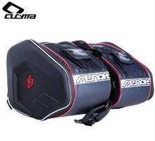 CUCYMA Motorcycle Bag Waterproof Moto Tail Luggage Suitcase Saddle Bag Motorcycle Side Helmet Riding Travel Bags With Rain Cover benkia motorcycle bag saddle bag back seat luggage bags motorcycle riding travel luggage handbag black moto bags