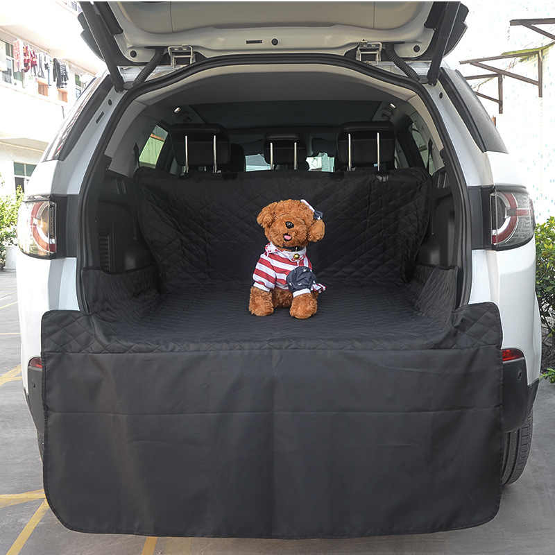 Pet Car Mat Black Long Trunk Dog Pet Pad Car Waterproof Anti-dirty Pad Trunk Cushion Cargo Liner Interior Accessories