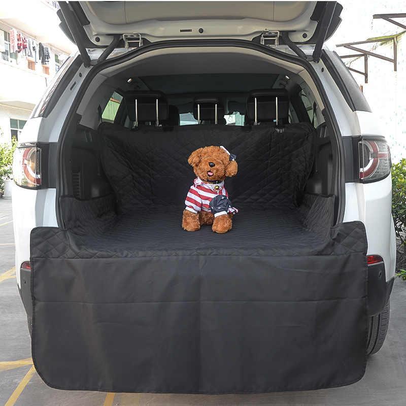 Huisdier Auto Mat Zwarte Lange Kofferbak Hond Huisdier Pad Auto Waterdicht Anti-vuil Pad Kofferbak Kussen Cargo Liner Interieur accessoires