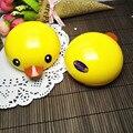 Бесплатная Доставка Мультфильм Rubber Duck Двойной Контактные Линзы Контейнер контактные линзы помощник коробка Очки кейс зеркало подарок 8087