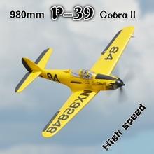 FMS RC Airplane Plane 980mm 0.98m P39 P-39 Cobra II 6CH with