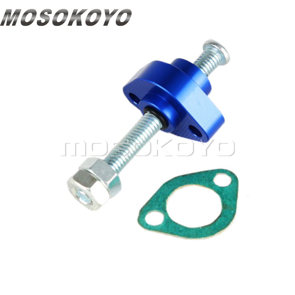 Aluminum Manual Cam Chain Tensioner for <font><b>Honda</b></font> Street Bike ATV <font><b>CBR</b></font> 900RR 600 F3 F4 CB <font><b>600F</b></font> TRX 250 350 500 85-11 image