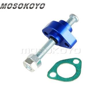Алюминиевый ручной натяжитель цепи для Honda Street Bike ATV CBR 900RR 600 F3 F4 CB 600F TRX 250 350 500 85-11