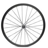 Переднее колесо с фокусным расстоянием 25 мм диск для колеса колесо для дорожного байка 100, 9, 12, 15 мм колесо из сплава углерода асимметрия Свер