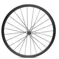 front wheel 25mm tubular disc road bike wheel 100 9 12 15mm carbon wheel Asymmetry Ultralight 480g carbon road wheels