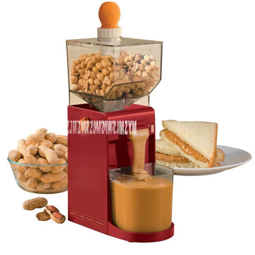 150W Peanut Butter Domestic Coffee Machine Peanut Butter Make Peanut Butter Milling Machine 220 V/50Hz Grinding Small Grinder peanut butter maker machine grinding machine with motor peanut butter machine
