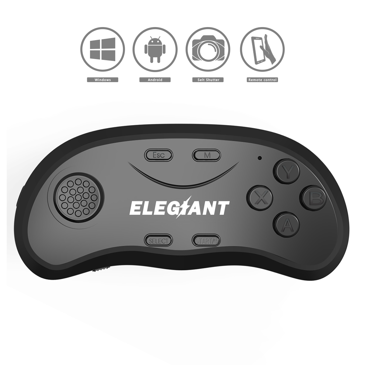 ELEGIANT 2 Generation bluetooth 3.0 <font><b>VR</b></font> <font><b>Glasses</b></font> Remote Control Gamepad <font><b>For</b></font> Android IOS <font><b>PC</b></font> image