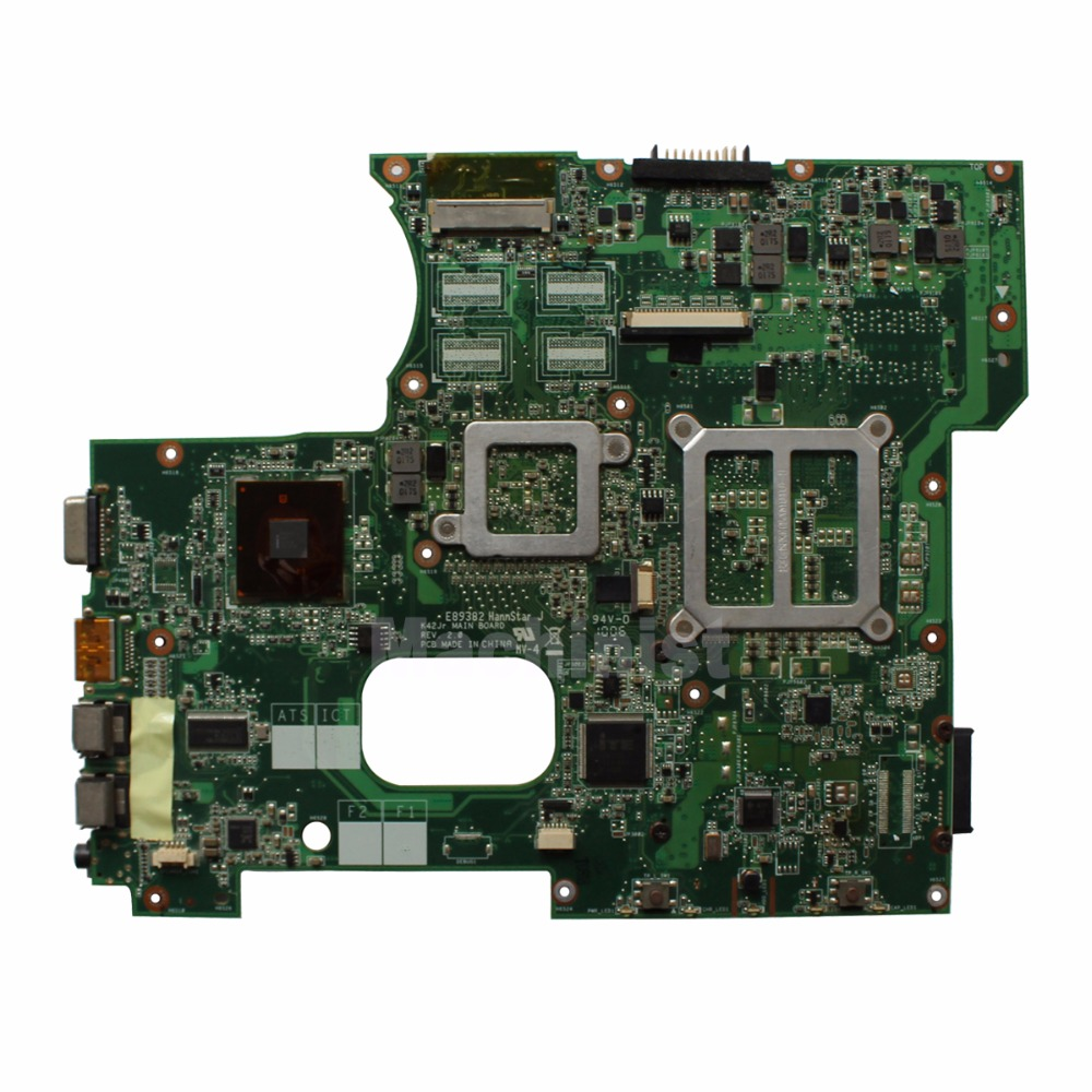 REV:2.0 For ASUS A42J K42J P42J X42J K42JE K42JB K42JZ K42JY K42JR laptop motherboard HM55 Not compatible with Other Versions 1