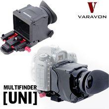 Varavon multi buscador hd dslr cámara lupa del visor lcd para canon eos 5d 7d 5d2, para nikon d800