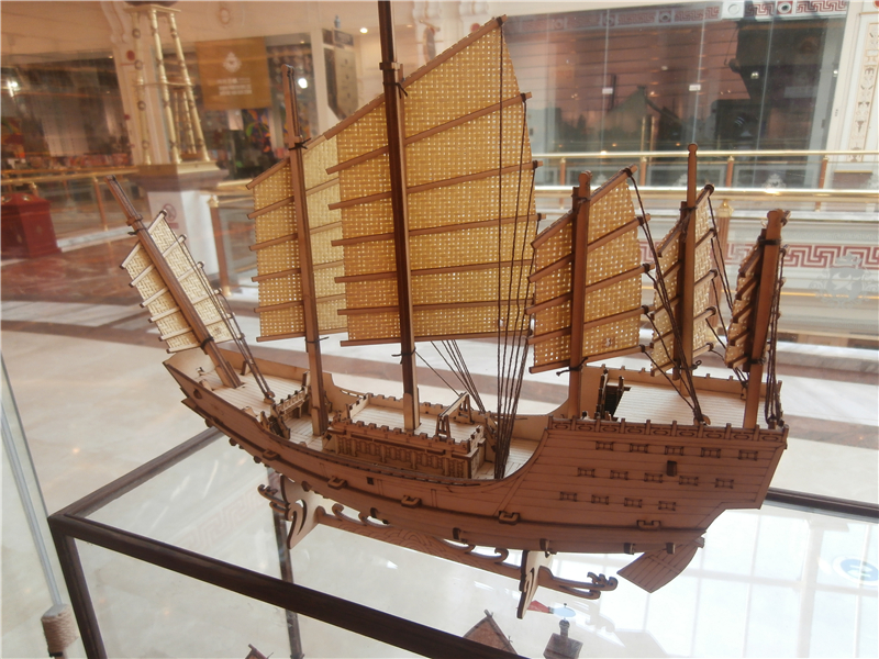 Ship Model kit No scale China wooden sail boat ZHENG Hes Treasure ship model free shipping Z004