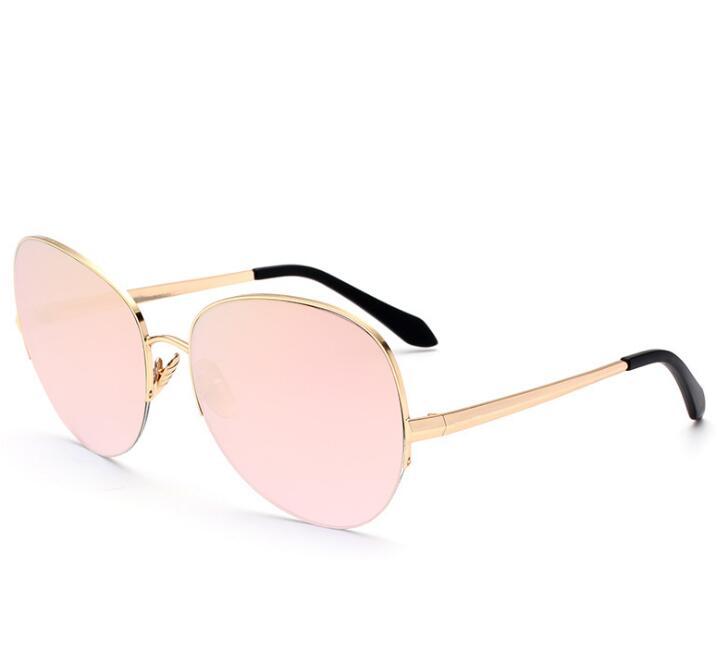 Vb Mode surdimensionné lunettes de Soleil Oculos De Sol Feminino Femmes  Hommes Designer Aviation Lentille UV400 Protection Lunettes de Soleil 493cdee22949