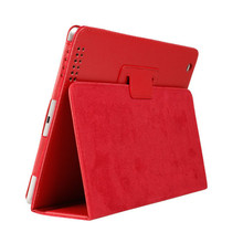 For Apple Ipad IPad6 Air2 Case Auto Sleep /Wake Up Flip Litchi PU Leather Cover for Air2 Smart Stand Holder Folio Case