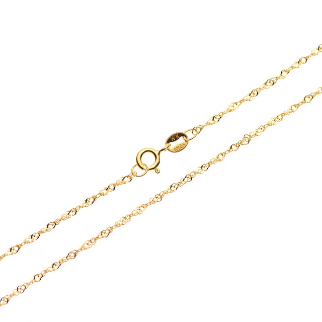 Sterling Silver Twisted Singapore Chain Necklace 18 Karat Gold Over Fashion Jewelry Women Accessories
