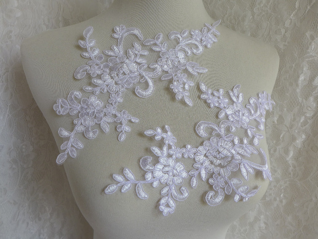 Corded lace lace applique applique fabric corded fabric etsy