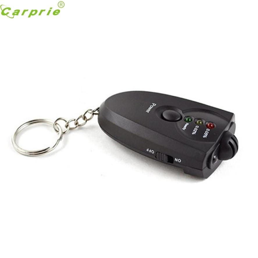 CARPRIE Car Key Chain Alcohol Tester Digital Breathalyzer Alcohol Breath Analyze Tester New Aug.9