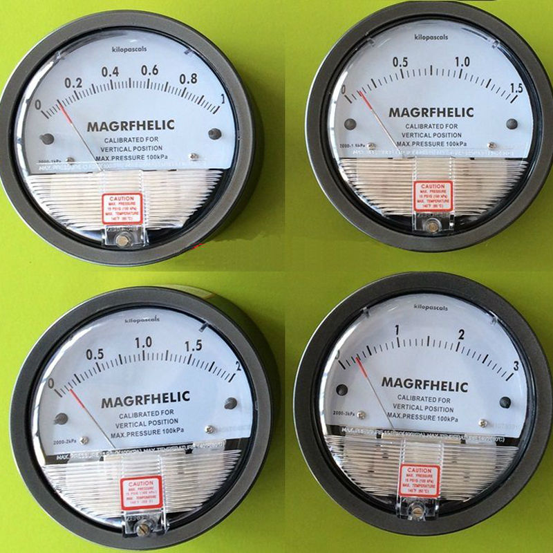 4000pa high pressure differential pressure gauge Manometer gas Micro-manometer available With high quality te2000 500pa 500pa micro differential pressure gauge