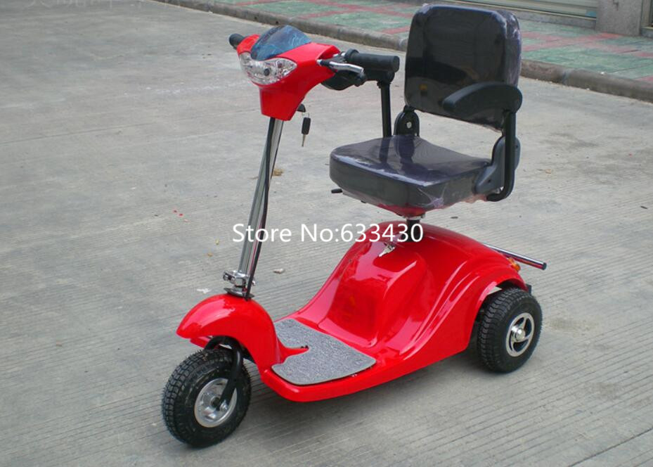 US $1100 0 |electric scooter 3 wheels For the old man electric scooter for  disabled Tricycle Electric Car Free Shipping-in Electric Scooters from