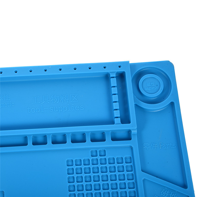 S-160 45x30cm Piattaforma di manutenzione per tappetino da scrivania - Attrezzatura per saldare - Fotografia 5
