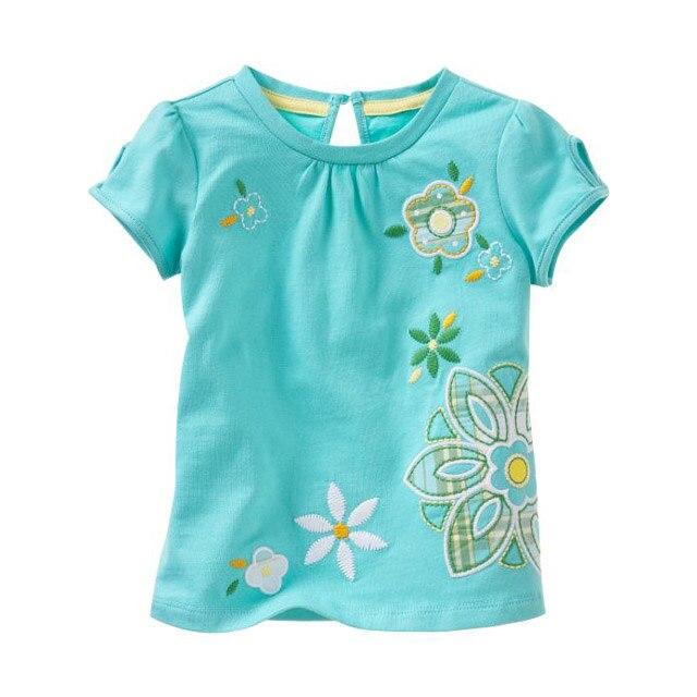 1 6 years brand children t shirt girls t shirt tees baby for Newborn girl t shirts