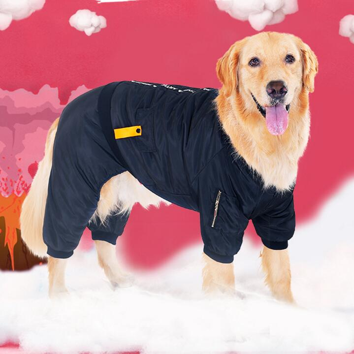 dog winter jumpsuit