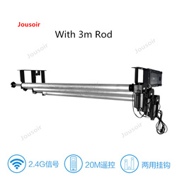 Background frame telescopic Rod Electric 3 lift photography background axle Pat Studio Portrait Background cloth CD50 T03