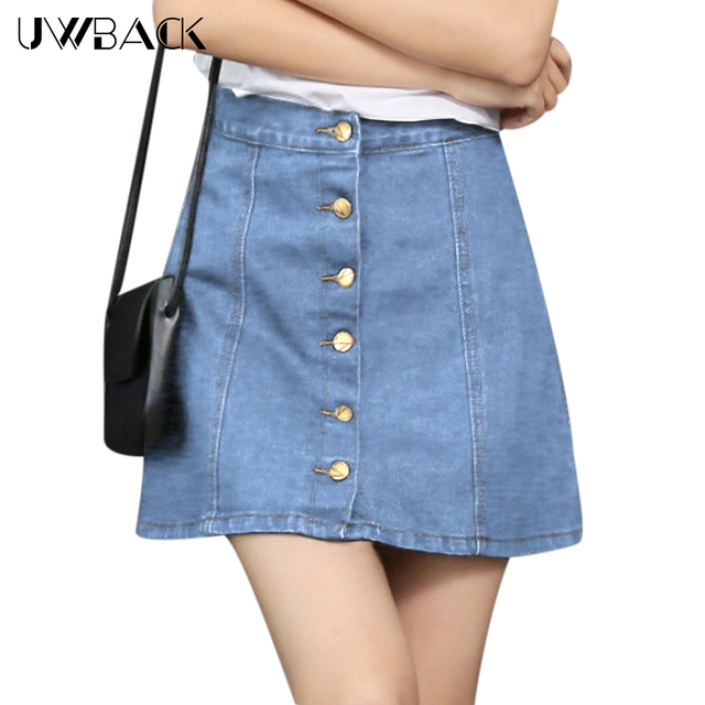 Jean dresses or skirts