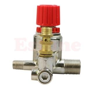 Image 4 - Heavy Duty Valve Gauges Regulator Air Compressor Pump Pressure Control Switch