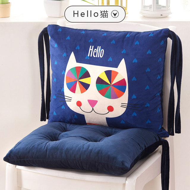 Fashion Cartoon Cat Chair Cushion,Cushions Home Decor,Decorative Pillows,Sofa  Car Seat