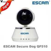 ESCAM Secure Dog QF510 720 P камера wi-fi Hi3518E ик встроенные динамики поддержка Micro SD onvif сигнализация беспроводной ip PTZ камера