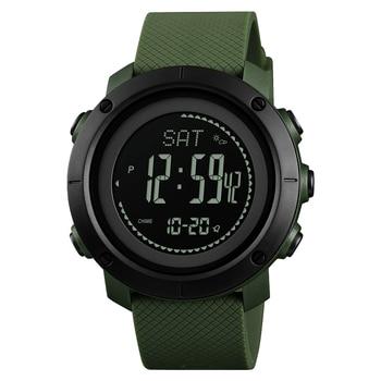 Professional Outdoor Sports Watches Men Women Compass Electronic Digital Wristwatch Pedometer Pressure Clock Relogio Masculino 1
