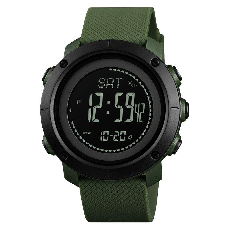 Profissional Ao Ar Livre Esportes Relógios Das Mulheres Dos Homens Relógio De Pulso Pedômetro Bússola Eletrônica Digital de Pressão Relógio Relogio masculino