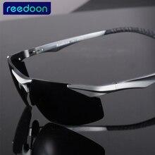Moda Verano Fibra de Carbono Polaroid Polarizada Recubrimiento Sunglass gafas de Sol de Las Mujeres Diseñador de la Marca de Los Hombres de Conducción Gafas de Sol 2206
