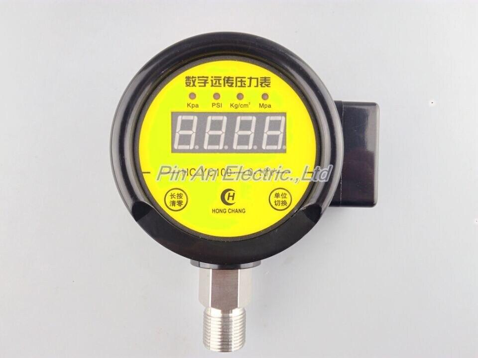 DC12V-24v 0-0.6MPA Digital remote pressure gauge constant pressure water supply Digital remote pressure gauge