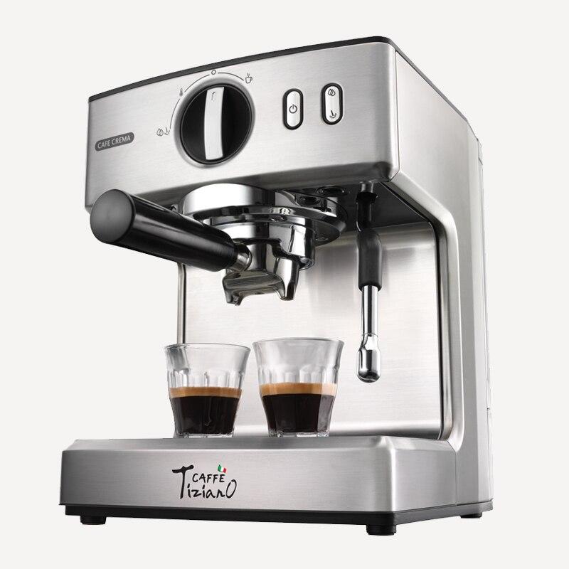 220V/1100W Semi Automatic Professional Electric Coffee Maker 15Bar Espresso Steam Coffee Machine For Home Office Using