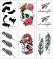 105 * 60mm waterproof tattoo stickers color tattoo stickers cartoon personality couple tattoos tattoo H426-H450