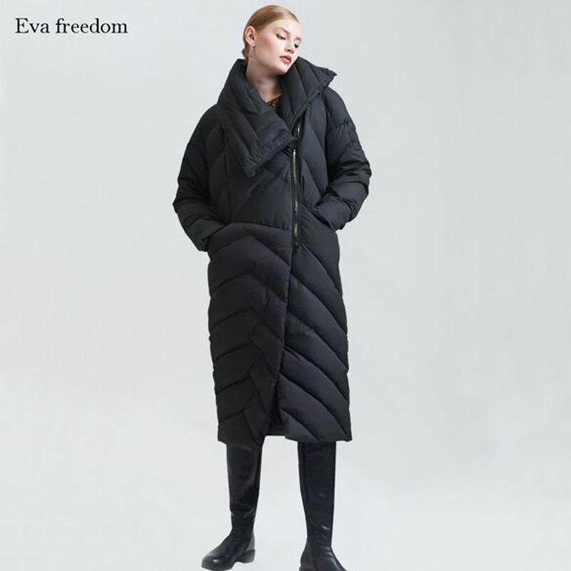 D'hiver Femmes Noir Vestes Qualité Chaud Veste Duvet Nouveau Canard Épais De Manteaux Mode Haute Blanc 2018 0SwqUa8