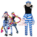 Nanbaka Uno No.11 Prison Clothes Cosplay Costume Full Set with Accessories detentionhouse